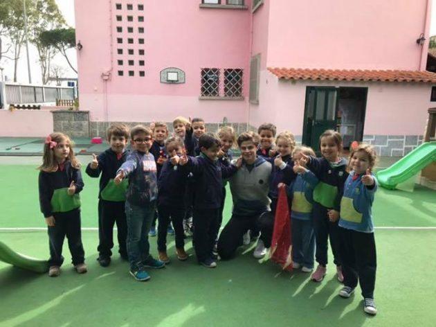Obrigada Alejandro. Foi um enorme prazer receber te no nosso colégio. Foi uma experiência…
