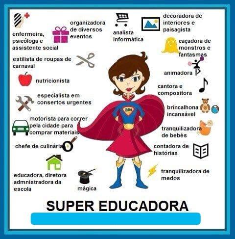 Ser educadora é isto e muito mais. E nós temos a melhor profissão do…